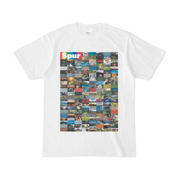 シンプルデザインTシャツ Spur=170(RAINBOW)