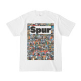 シンプルデザインTシャツ NC3.Spur_232(WHITE)