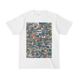 シンプルデザインTシャツ 276-Spur(WHITE)
