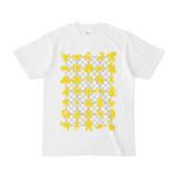 シンプルデザインTシャツ NET35☆MONSTER(YELLOW)