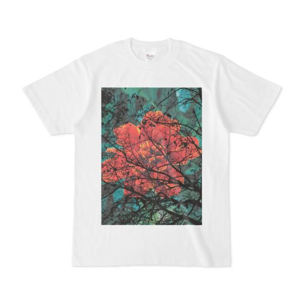 シンプルデザインTシャツ Epic 花木
