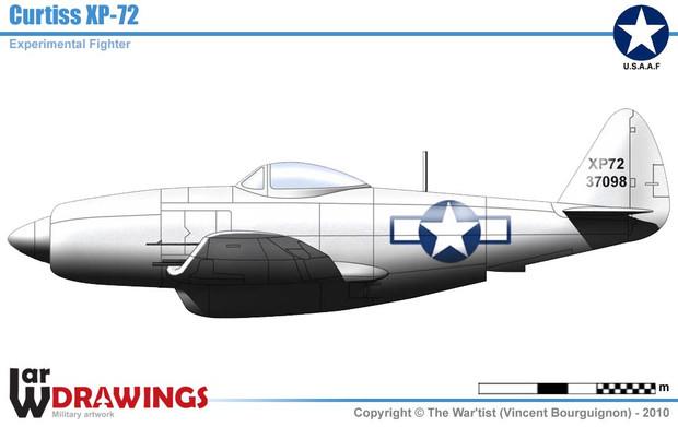 リパブリック XP-72 スーパーサンダーボルト
