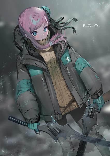 寒すぎるので着込む武蔵ちゃん