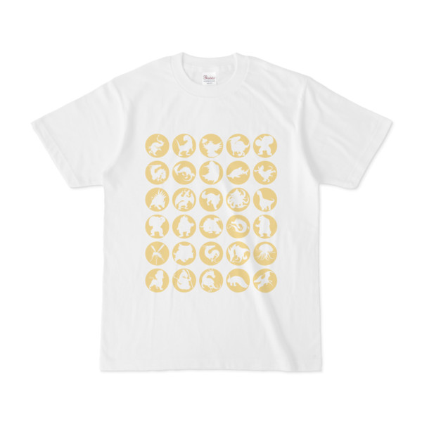 シンプルデザインTシャツ C.MONSTER(KHAKI)