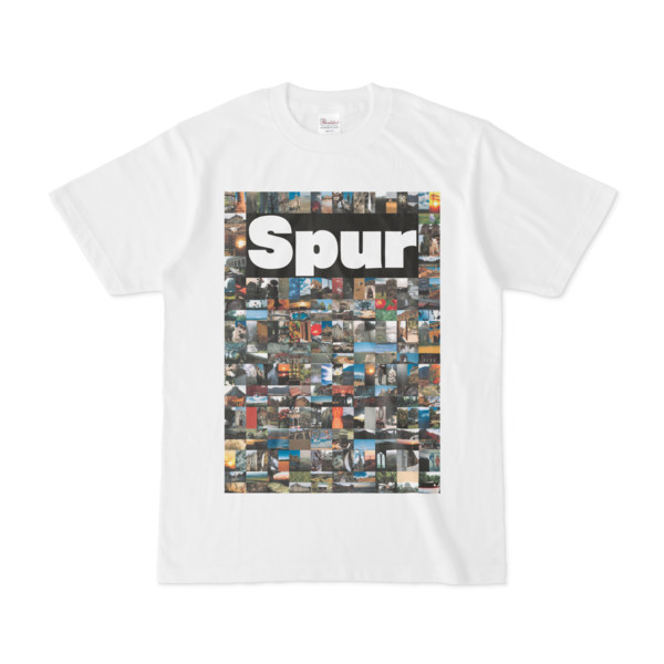 シンプルデザインTシャツ NC4.Spur_232(BLACK)