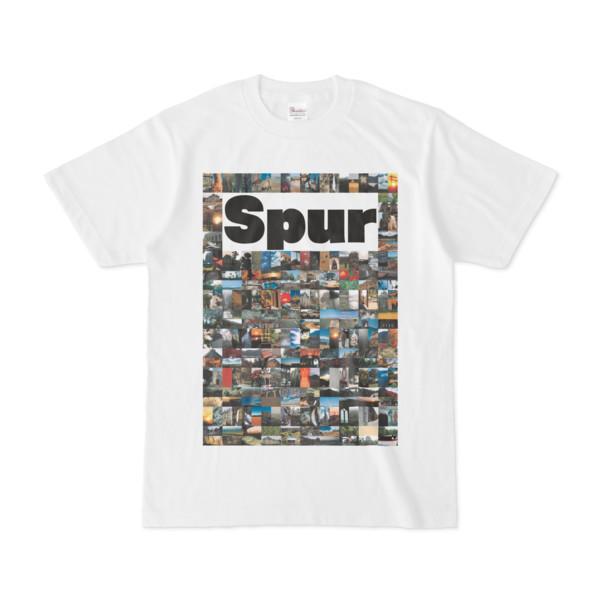 シンプルデザインTシャツ NC4.Spur_232(WHITE)