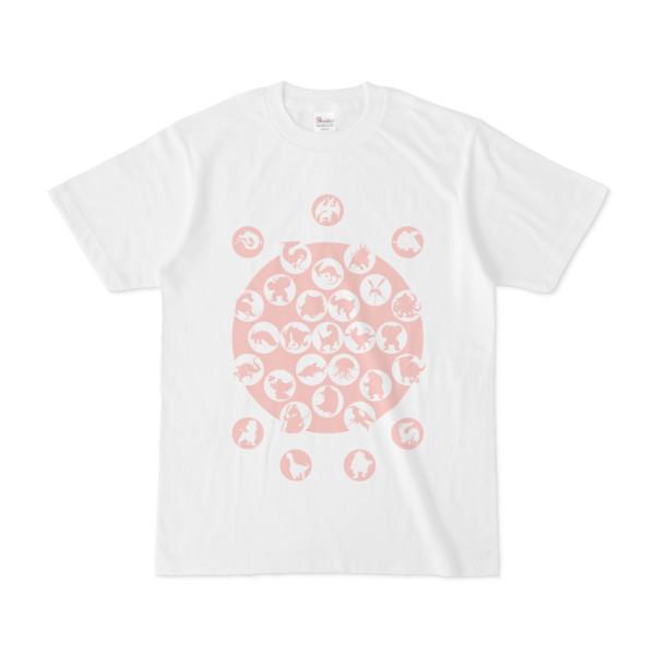 シンプルデザインTシャツ M_Ladybird(PINK)
