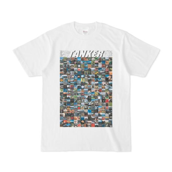 シンプルデザインTシャツ TANKER_300(WHITE)