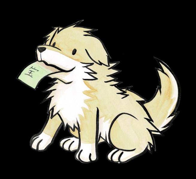 宝くじと犬
