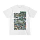 シンプルデザインTシャツ TANKER_on300(GREEN)