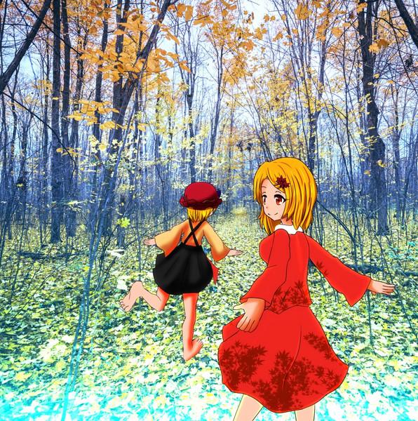【東方】秋は去り、幻想は冬の入り口へ【秋静葉 穣子】