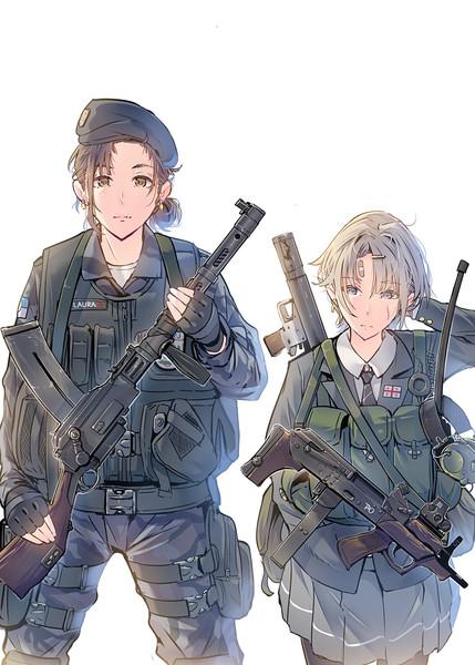 武装女子高生 軍装女子ver5