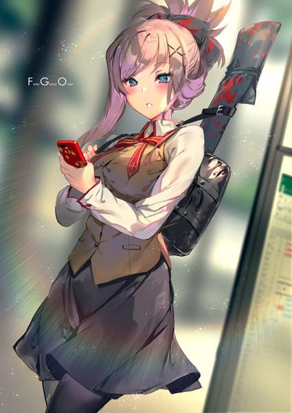 通学する武蔵ちゃん