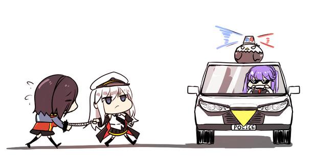 逮捕されるアークロイヤル