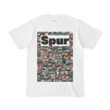 シンプルデザインTシャツ NC5.Spur_232(WHITE)