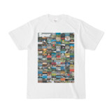 シンプルデザインTシャツ Spur=170(GRAY)