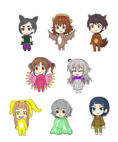 聖剣伝説3の雑魚キャラ役の人たち1