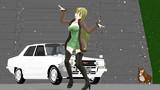 テレキャスタービーボーイを 踊る 玲霞さん 【Fate/MMD】