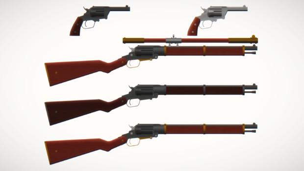 スコッティーM1474拳銃&カービン
