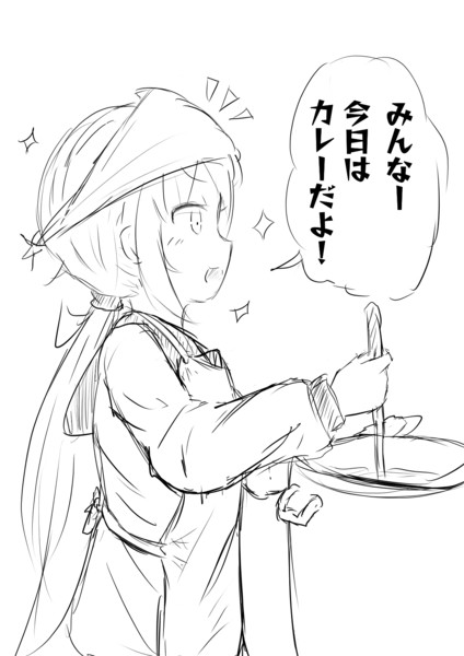 #今日のらくがき皐月ちゃん4