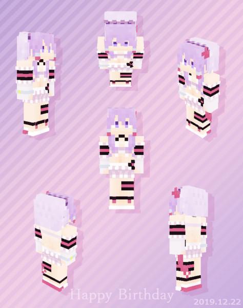 【Minecraft】結月ゆかり:水着ウェディング衣装【Alex】