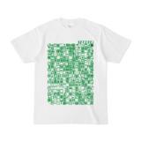 シンプルデザインTシャツ TOY☆TANKER(GREEN)