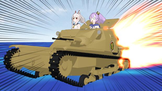 重桜改良型水陸両用CV33