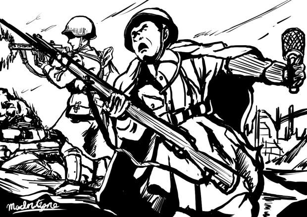 冬の嵐作戦レ〇プ!!ホト集団の猛攻を撃退したソ連軍UC