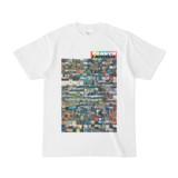 シンプルデザインTシャツ TANKER_on300(RAINBOW)