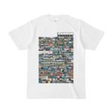 シンプルデザインTシャツ TANKER_on300(GRAY)