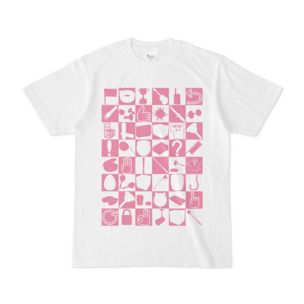 シンプルデザインTシャツ 四八シュプール(VIOLET)