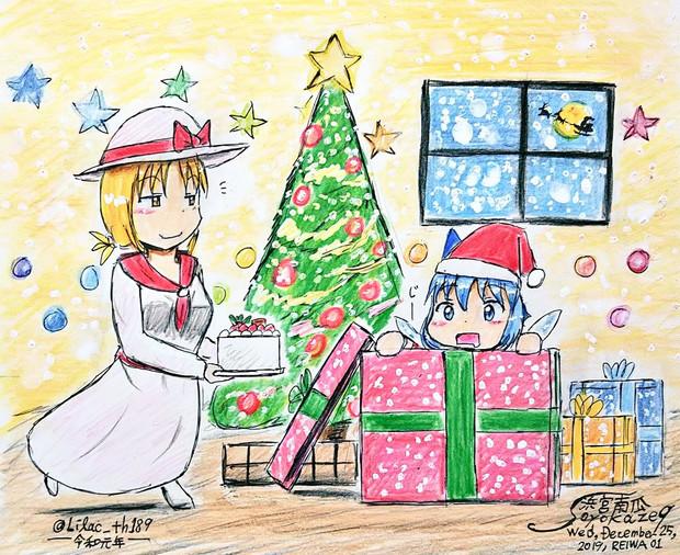 プレゼントから出ておいで