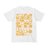 シンプルデザインTシャツ 四八シュプール(GOLD)