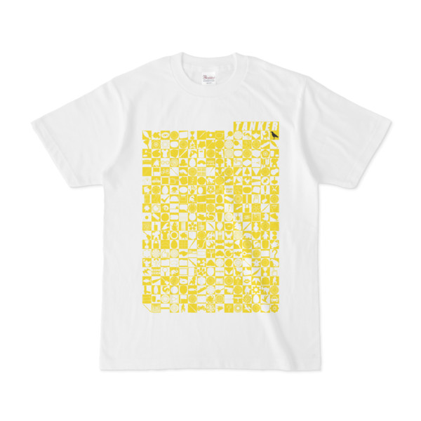 シンプルデザインTシャツ TOY☆TANKER(YELLOW)