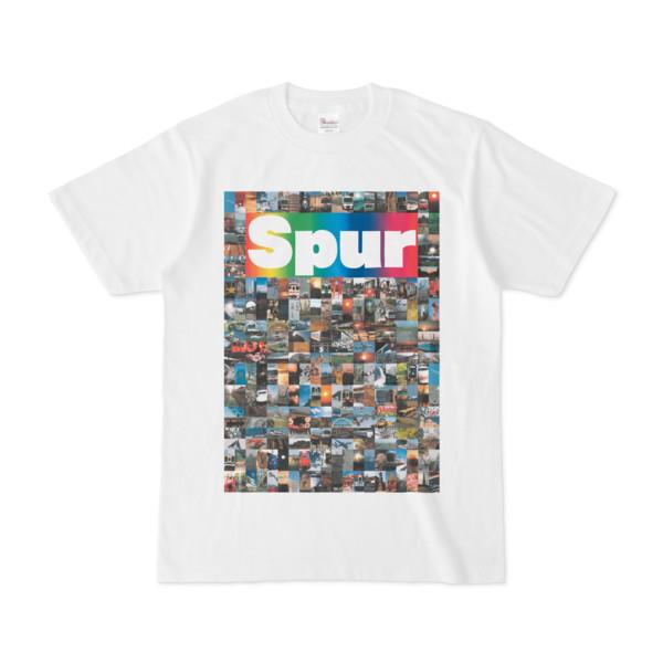 シンプルデザインTシャツ NC6.Spur_232(RAINBOW)