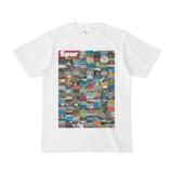 シンプルデザインTシャツ Spur=170(MAROON)