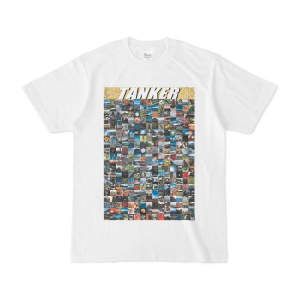 シンプルデザインTシャツ TANKER_300(KHAKI)