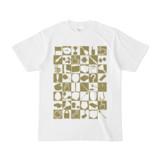 シンプルデザインTシャツ 四八シュプール(OLIVE)