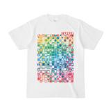 シンプルデザインTシャツ TOY☆TANKER(RAINBOW)