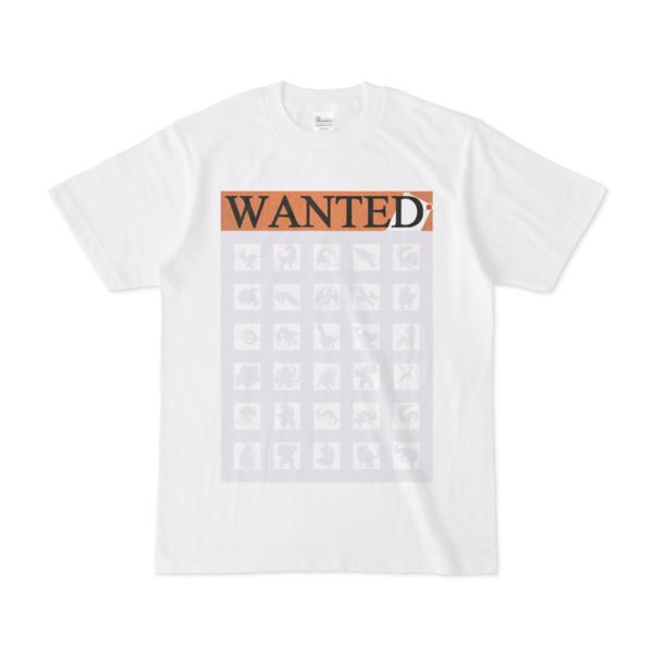 シンプルデザインTシャツ WANTED MONSTER(LAVENDER)
