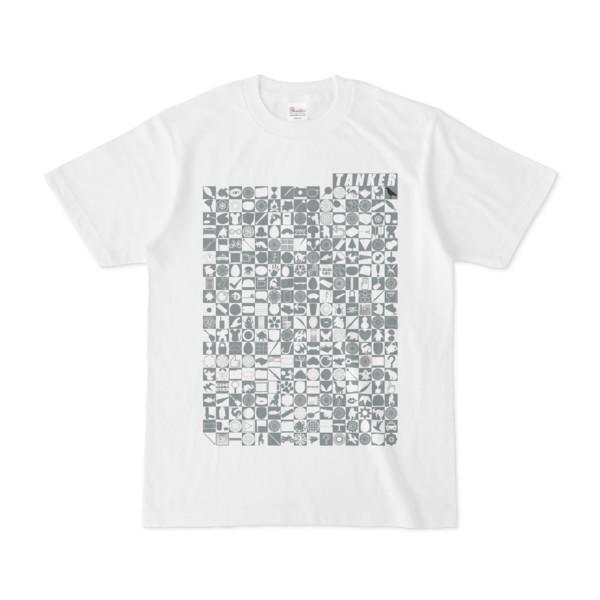 シンプルデザインTシャツ TOY☆TANKER(GRAY)