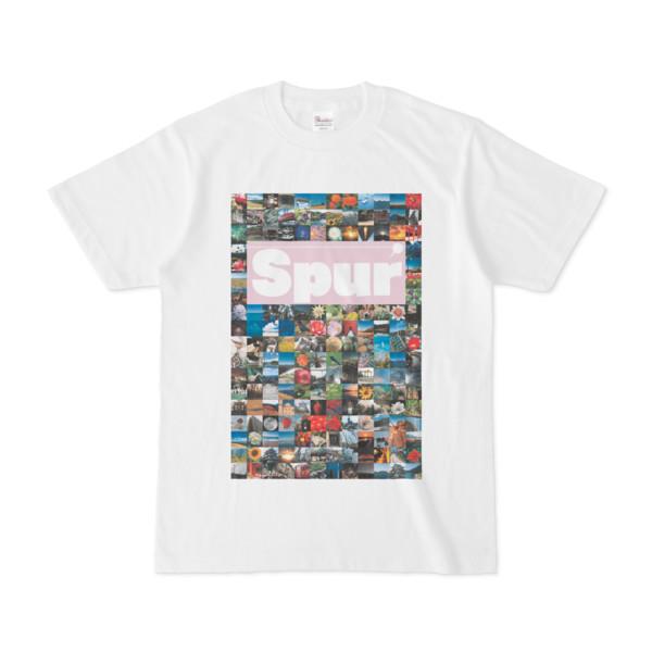 シンプルデザインTシャツ Spur_176/2(THISTLE)