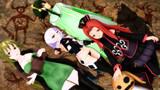 文明破壊少女グルールガールズ自演絵 保護者付き【テイルズオブMMD】【Fate/MMD】