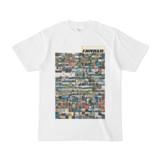 シンプルデザインTシャツ TANKER_on300(KHAKI)