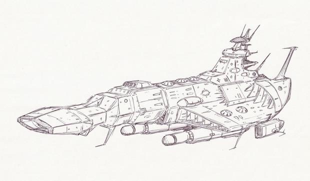 新型デスラー艦