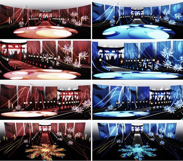 灯籠ステージ令和ver ステージ配布