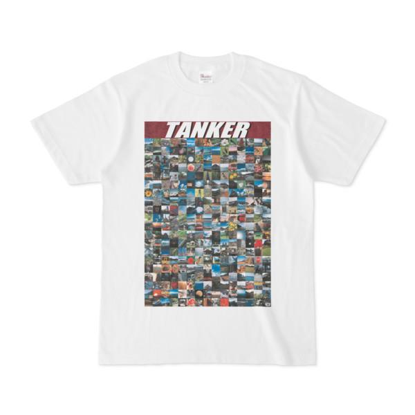 シンプルデザインTシャツ TANKER_300(MAROON)