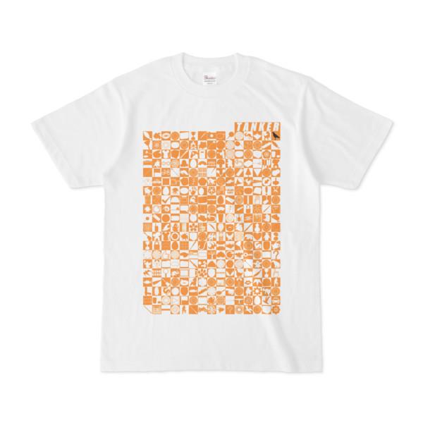 シンプルデザインTシャツ TOY☆TANKER(ORANGE)