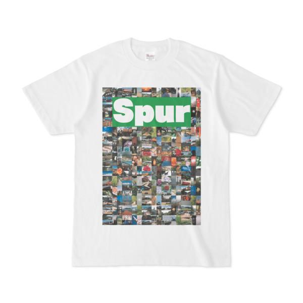シンプルデザインTシャツ NC7.Spur_232(GREEN)