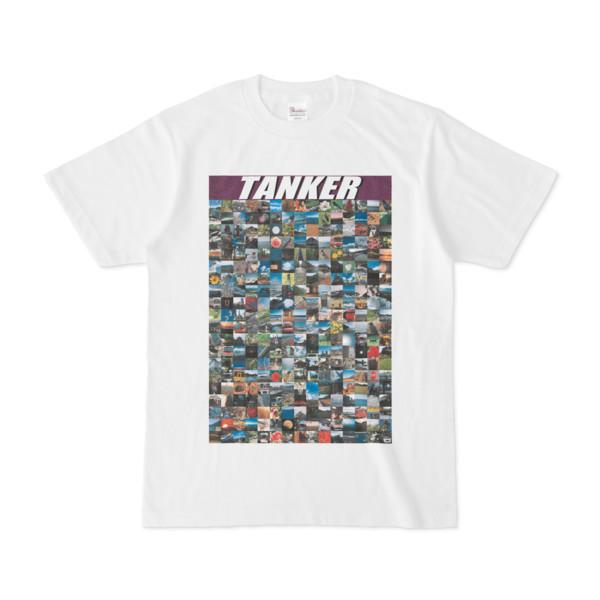 シンプルデザインTシャツ TANKER_300(PURPLE)